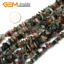 "G0870 Indian Agate 5-8mm Multi-Color Chips Gemstone Loose Beads Strand 15""& 34"" Free Shipping Natural Stone Beads for Jewelry Making Wholesale"