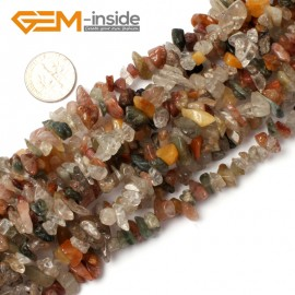 "G0875 Mixed Stone 5-8mm Multi-Color Chips Gemstone Loose Beads Strand 15""& 34"" Free Shipping Natural Stone Beads for Jewelry Making Wholesale"