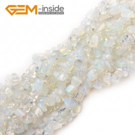 "G0887 Opalite 5-8mm Multi-Color Chips Gemstone Loose Beads Strand 15""& 34"" Free Shipping Natural Stone Beads for Jewelry Making Wholesale"