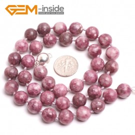 "G10365 10mm Chinese Tourmaline 20"" Natural Smooth Round Gemstone Beads Handmade Finished Jewelry Necklace 17.5-20"" Gemstone Birthstone Necklaces Fashion Jewelry Jewellery"