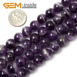 """G1416 10mm Natural Round Dream Lace Amethyst Beads Strand 15""""Jewelry Making Gemstone Beads Natural Stone Beads for Jewelry Making Wholesale`"""