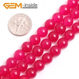 "G15078 8mm Round Gemstone Plum Jade Beads DIY Jewelry Making Loose Beads 15""4-18mm Pick Natural Stone Beads for Jewelry Making Wholesale"