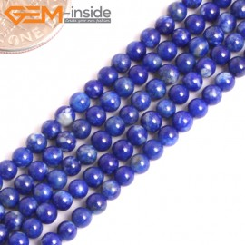 """G16028 3mm Round Natural Blue Lapis lazuli  Gemstone Loose Beads 15"""" Natural Stone Beads for Jewelry Making Wholesale"""