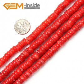 "G2182 2x8-9mm Geuine Light Coral Gemstne Loose Beads Strand 15"" Jewelery Making Beads Gbeads Natural Stone Beads for Jewelry Making Wholesale"