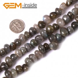 "G3416 labradorite 8-10x12-14mm Freeform Potato Gemstone Jewelry Making Loose Beads Strand 15"" Natural Stone Beads for Jewelry Making Wholesale"