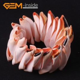 "G3655 30mm natural sea shell beads linking bracelet 7'' - 8"" Stretchable Fashion Jewelry Jewellery Bracelets  for women"