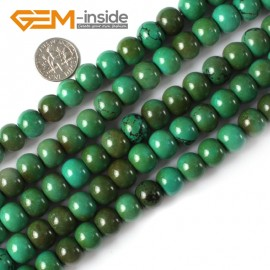 "G4093 9x12mm Natural Rondelle Gemstone Old Turquoise Jewelry Making Loose Beads strand 15"" Natural Stone Beads for Jewelry Making Wholesale"