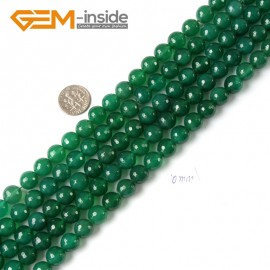"""G4284 10mm Round Faceted Green Agate Beads Jewelry Making Gemstone Loose Beads Strand 15"""" Natural Stone Beads for Jewelry Making Wholesale"""