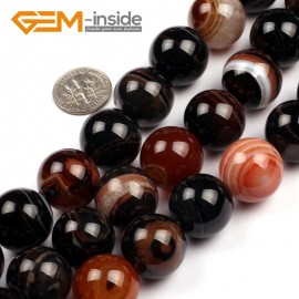 "G5134 18mm Natural Round Gemstone Dream Lace Agate Grade AAA DIY Crafts Making Beads15"" Natural Stone Beads for Jewelry Making Wholesale"