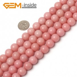"""G5937 12mm Natural Round Pink Opal Beads Jewelry Making Gemstone Loose Beads Strand 15"""" Natural Stone Beads for Jewelry Making Wholesale"""