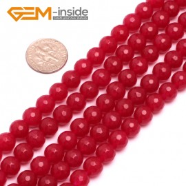 """G8073 Plum 8mm Round Smooth Jade Beads Jewellery Making Loose Beads 15"""" Pick Size & Colour Natural Stone Beads for Jewelry Making Wholesale"""