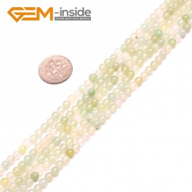 G8176 4mm Natural Round Gemstone Grape Agate DIY Jewelry Crafts Making Loose Beads 15' Natural Stone Beads for Jewelry Making Wholesale