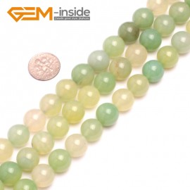 G8180 12mm Natural Round Gemstone Grape Agate DIY Jewelry Crafts Making Loose Beads 15' Natural Stone Beads for Jewelry Making Wholesale