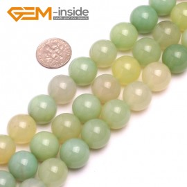 G8181 14mm Natural Round Gemstone Grape Agate DIY Jewelry Crafts Making Loose Beads 15' Natural Stone Beads for Jewelry Making Wholesale