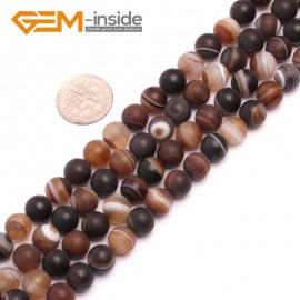 """G8211 Gray 8mm Round Gemstone Frost Matte Agate DIY Jewelry Making Beads 15""""6-14mm Pick Colors Natural Stone Beads for Jewelry Making Wholesale"""