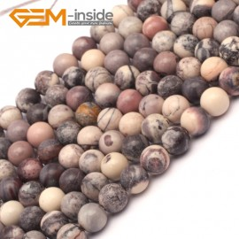 """G9419 6mm Round Smooth Gemstone Purple Flower Agate Jewelry Making Loose Beads Strand 15"""" Natural Stone Beads for Jewelry Making Wholesale`"""