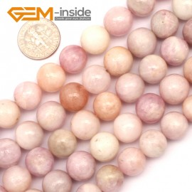 "G9445 12mm Round Purple Spodumene Jewelry Making Stone Loose Beads Strand 15"" Natural Stone Beads for Jewelry Making Wholesale"