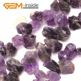 """G9594 Amethyst(Head Drill) 15-18mm Freefrom DIY Jewelry Making Natural Gemstone Loose Beads Strand 15"""" Natural Stone Beads for Jewelry Making Wholesale`"""